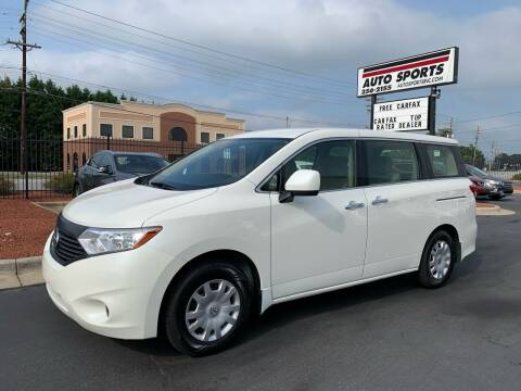 2015 Nissan Quest for sale at Auto Sports in Hickory NC