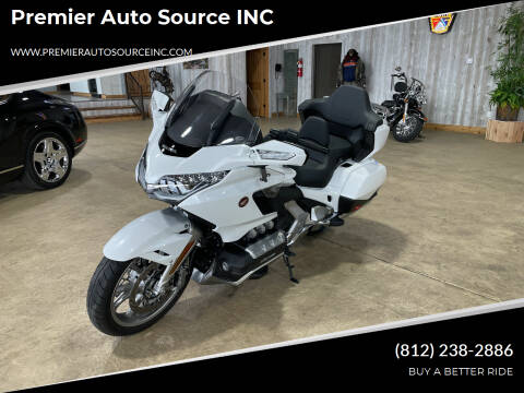2018 Honda Goldwing DCT for sale at Premier Auto Source INC in Terre Haute IN