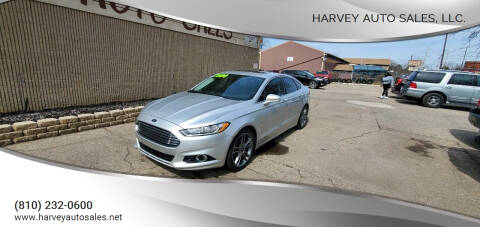 2013 Ford Fusion for sale at Harvey Auto Sales, LLC. in Flint MI