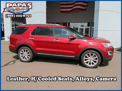 2016 Ford Explorer for sale at Papas Chrysler Dodge Jeep Ram in New Britain CT