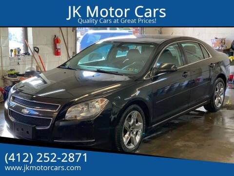 2010 Chevrolet Malibu for sale at JK Motor Cars in Pittsburgh PA