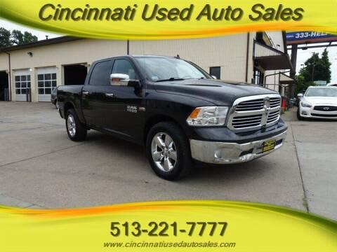 2017 RAM Ram Pickup 1500 for sale at Cincinnati Used Auto Sales in Cincinnati OH