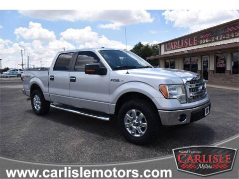 2014 Ford F-150 for sale at Carlisle Motors in Lubbock TX