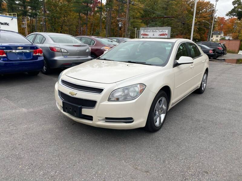 2010 Chevrolet Malibu for sale at United Auto Service in Leominster MA