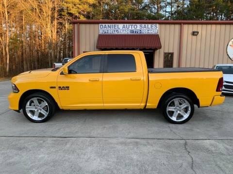 2016 RAM Ram Pickup 1500 for sale at Daniel Used Auto Sales in Dallas GA