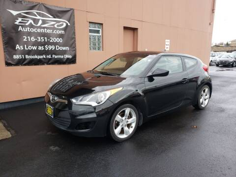 2012 Hyundai Veloster for sale at ENZO AUTO in Parma OH