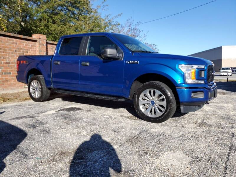 2018 Ford F-150 for sale at Ron's Used Cars in Sumter SC