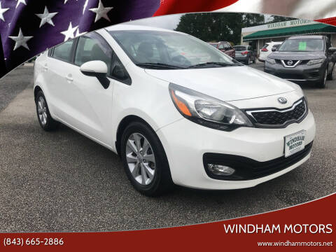 2014 Kia Rio for sale at Windham Motors in Florence SC