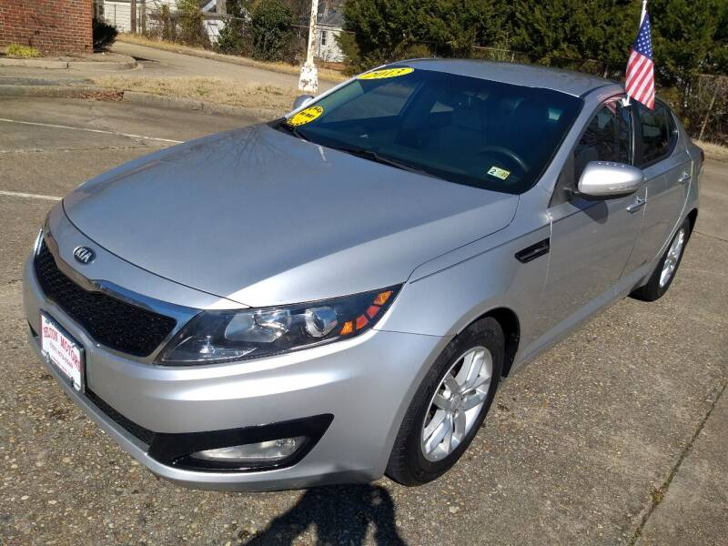 2013 Kia Optima for sale at Hilton Motors Inc. in Newport News VA