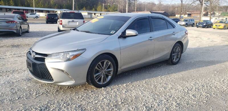 2016 Toyota Camry for sale at COOPER AUTO SALES in Oneida TN