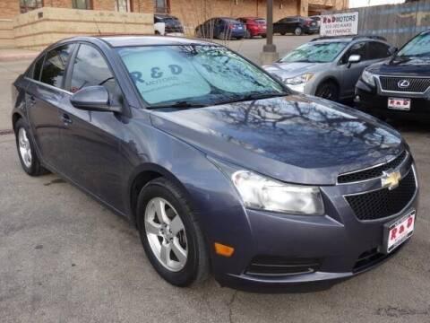 2014 Chevrolet Cruze for sale at R & D Motors in Austin TX