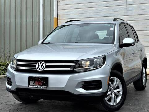 2016 Volkswagen Tiguan for sale at Haus of Imports in Lemont IL