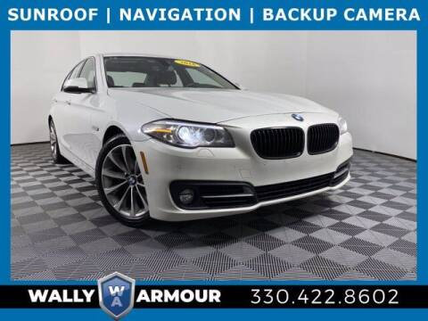 2016 BMW 5 Series for sale at Wally Armour Chrysler Dodge Jeep Ram in Alliance OH