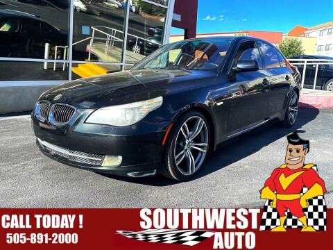2010 BMW 5 Series for sale at SOUTHWEST AUTO in Albuquerque NM
