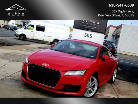 2016 Audi TT for sale at Alpha Luxury Motors in Downers Grove IL