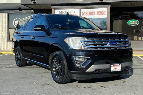 2019 Ford Expedition MAX for sale at Michaels Auto Plaza in East Greenbush NY