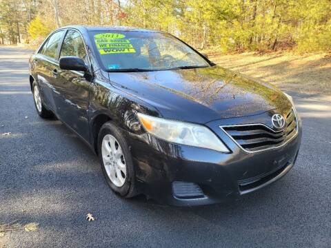 2011 Toyota Camry for sale at Showcase Auto & Truck in Swansea MA