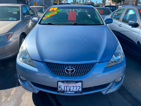 2004 Toyota Camry Solara for sale at North County Auto in Oceanside CA