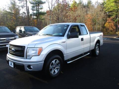 2014 Ford F-150 for sale at MC FARLAND FORD in Exeter NH