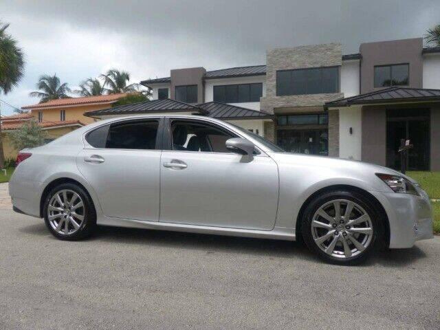 2013 Lexus GS 350 for sale at Lifetime Automotive Group in Pompano Beach FL