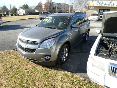 2012 Chevrolet Equinox for sale at Credit Cars of NWA in Bentonville AR