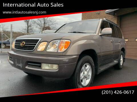 1998 Lexus LX 470 for sale at International Auto Sales in Hasbrouck Heights NJ