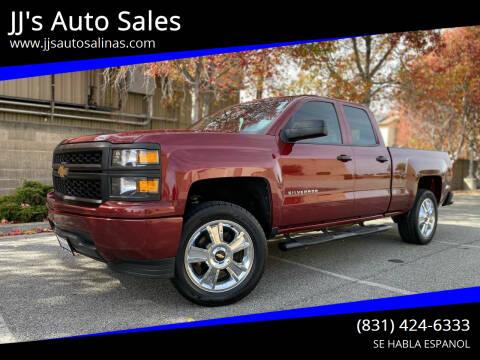 2015 Chevrolet Silverado 1500 for sale at JJ's Auto Sales in Salinas CA