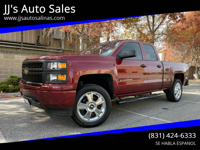 2015 Chevrolet Silverado 1500 for sale at JJ's Auto Sales in Salinas CA