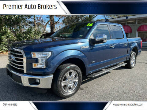 2016 Ford F-150 for sale at Premier Auto Brokers in Virginia Beach VA