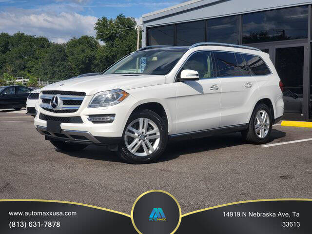 2015 Mercedes-Benz GL-Class for sale at Automaxx in Tampa FL