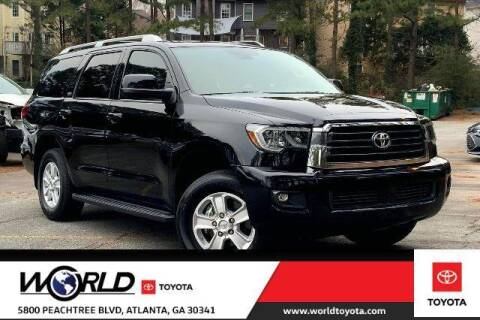 2019 Toyota Sequoia for sale at CU Carfinders in Norcross GA