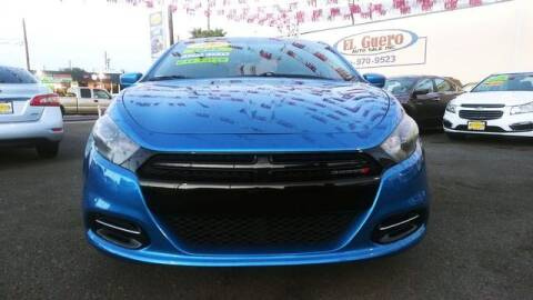 2015 Dodge Dart for sale at El Guero Auto Sale in Hawthorne CA