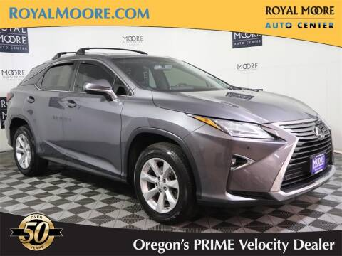 2016 Lexus RX 350 for sale at Royal Moore Custom Finance in Hillsboro OR