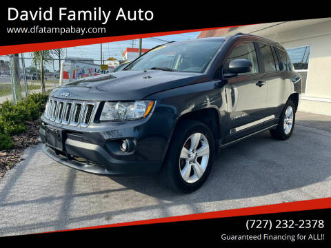2015 Jeep Compass for sale at David Family Auto in New Port Richey FL