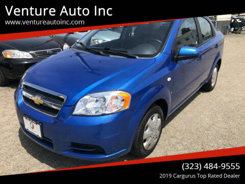 2008 Chevrolet Aveo for sale at Venture Auto Inc in South Gate CA