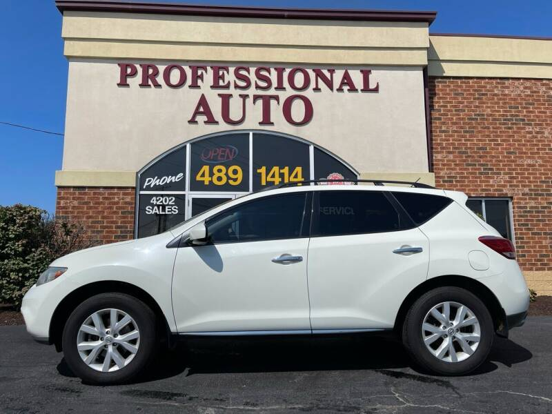 2011 Nissan Murano for sale at Professional Auto Sales & Service in Fort Wayne IN