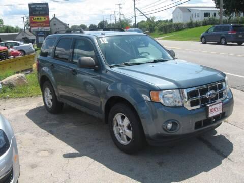 2012 Ford Escape for sale at Joks Auto Sales & SVC INC in Hudson NH