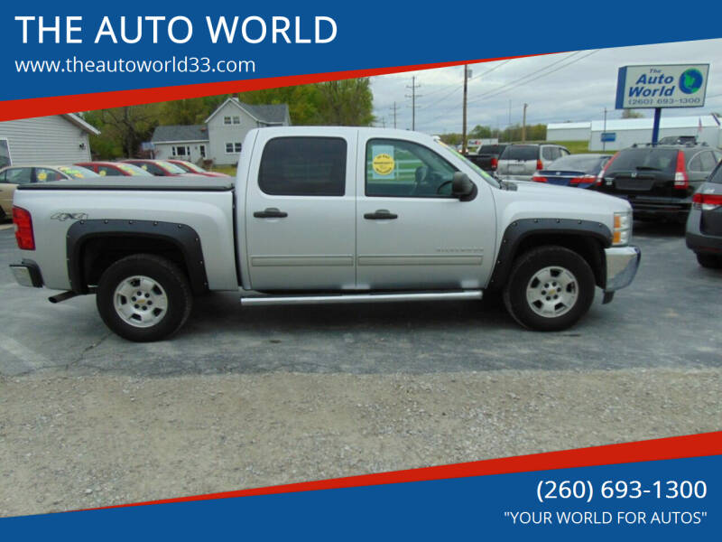 2012 Chevrolet Silverado 1500 for sale at THE AUTO WORLD in Churubusco IN