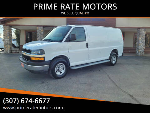2019 Chevrolet Express Cargo for sale at PRIME RATE MOTORS in Sheridan WY