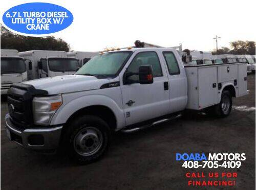 2015 Ford F-350 Super Duty for sale at DOABA Motors - Work Truck in San Jose CA