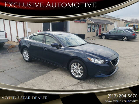 2016 Mazda MAZDA6 for sale at Exclusive Automotive in West Chester OH
