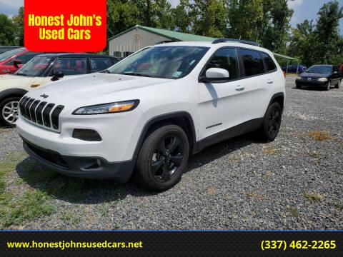 2015 Jeep Cherokee for sale at Honest John's Used Cars in Deridder LA