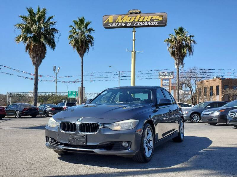 2014 BMW 3 Series for sale at A MOTORS SALES AND FINANCE - 6226 San Pedro Lot in San Antonio TX