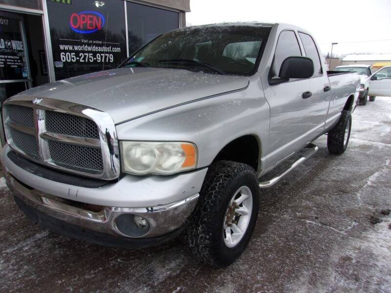 2003 Dodge Ram Pickup 2500 for sale at World Wide Automotive in Sioux Falls SD