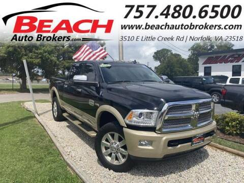 2014 RAM Ram Pickup 3500 for sale at Beach Auto Brokers in Norfolk VA