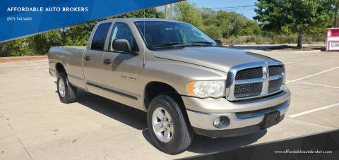 2003 Dodge Ram Pickup 1500 for sale at AFFORDABLE AUTO BROKERS in Keller TX