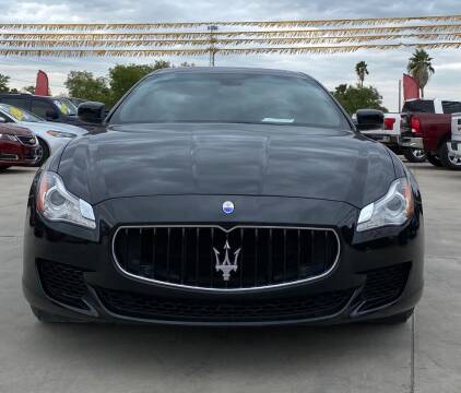 2015 Maserati Quattroporte for sale at A & V MOTORS in Hidalgo TX