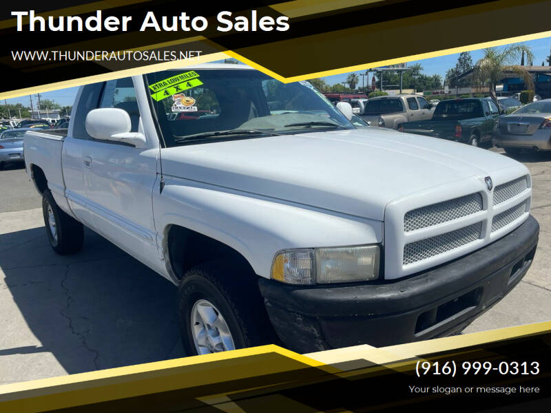 2000 Dodge Ram Pickup 1500 for sale at Thunder Auto Sales in Sacramento CA