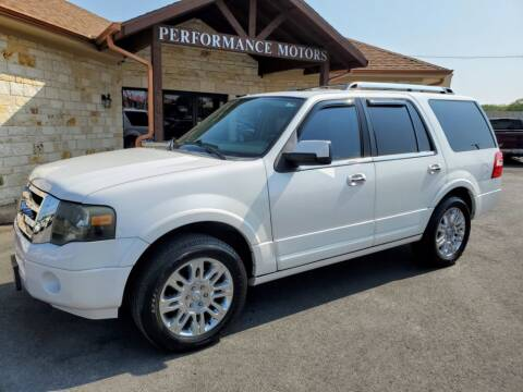 2011 Ford Expedition for sale at Performance Motors Killeen Second Chance in Killeen TX