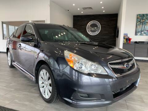 2012 Subaru Legacy for sale at Evolution Autos in Whiteland IN